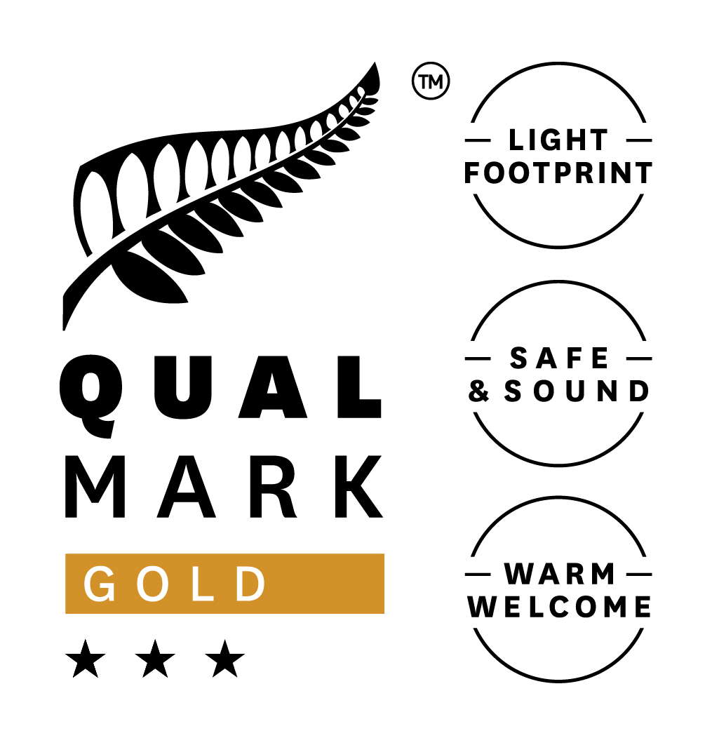 Qualmark 3 Star Gold Sustainable Tourism Business Award